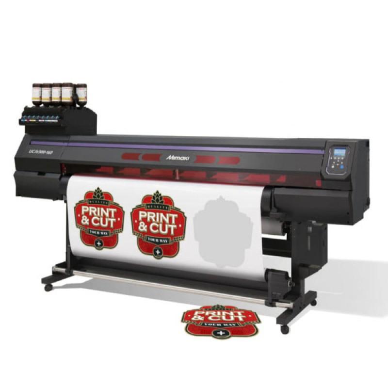 Mimaki UCJV300-160 UV LED Roll to Roll Cut and Print
