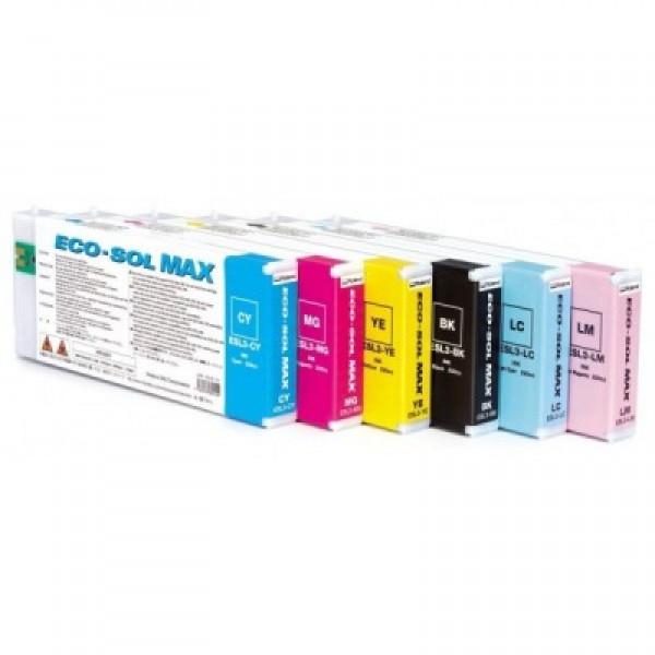 ROLAND ESL3-4CY ECO-SOL MAX CYAN INK CARTRIDGE 440ML