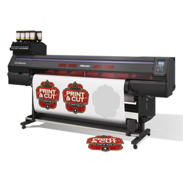 Mimaki UCJV300-107 UV LED Roll to Roll Cut and Print